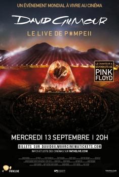 Pink Floyd's David Gilmour - Live à Pompéï (2017)